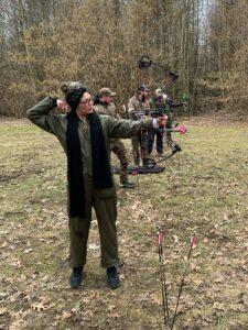 Hedehusende Fløng Jagtforening bueskydning
